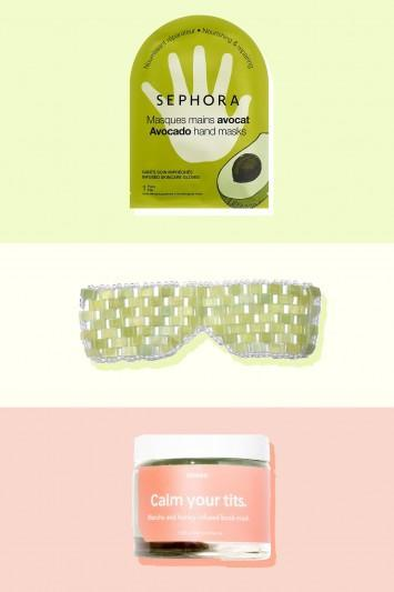 8 really fun skincare masks for every part of your body except your face