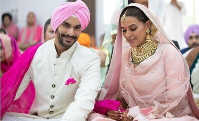 20 Celebrity Brides in Pink At Their wedding | Fashion | Bride | WeddingSutra