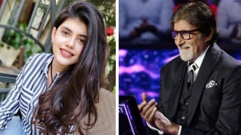 KBC 12: Dil Bechara's Sanjana Sanghi Overwhelmed As Amitabh Bachchan Asks Question About Her