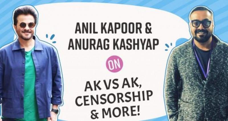 Anil Kapoor and Anurag Kashyap spill the beans on AK vs AK Fabulous Lives of Bollywood Wives more