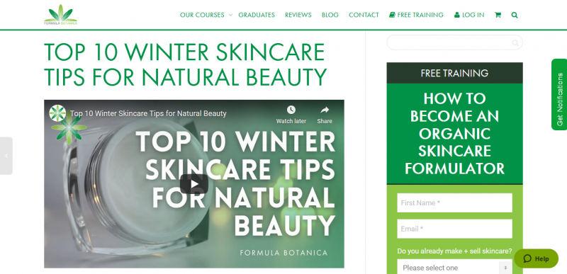 Top 10 Winter Skincare Tips for Natural Beauty Formula Botanica