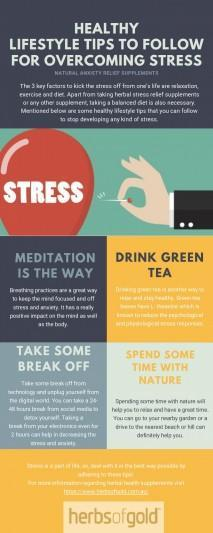 Healthy Lifestyle Tips to Follow for Overcoming Stress