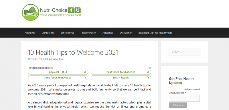 10 Health Tips to Welcome 2021