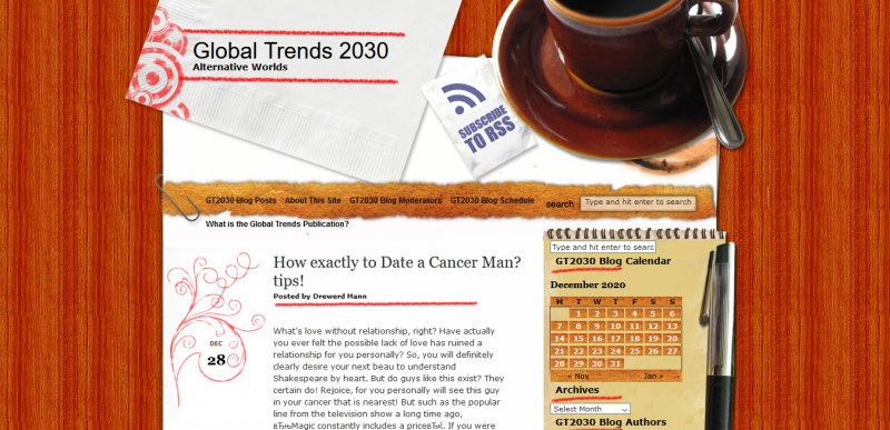 How exactly to Date a Cancer Man? tips! : Global Trends 2030