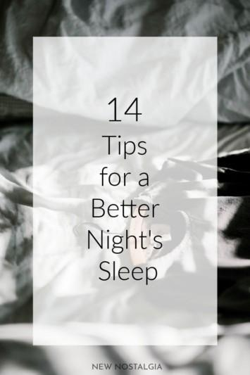 14 Tips for a Better Night's Sleep Especially for Cancer Survivors