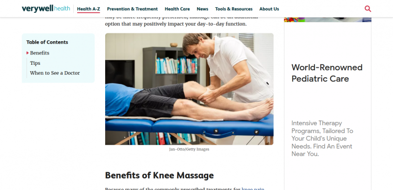 Knee Massage: Benefits and Tips