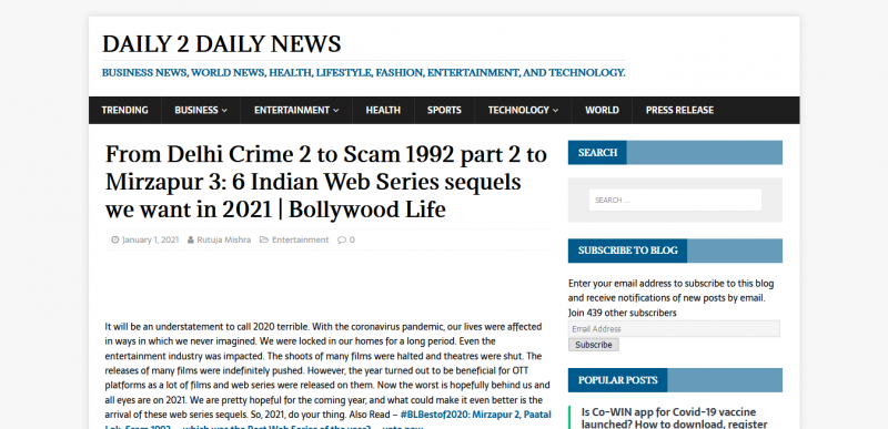 From Delhi Crime 2 to Scam 1992 part 2 to Mirzapur 3: 6 Indian Web Series sequels we want in 2021