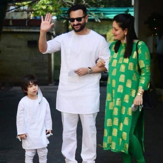 Saif Ali Khan snaps at the paps for clicking his and son, Taimur's photographs, without permission
