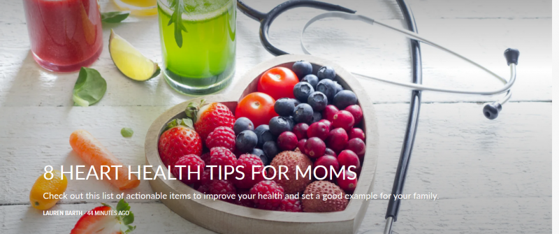 8 Heart Health Tips for Moms
