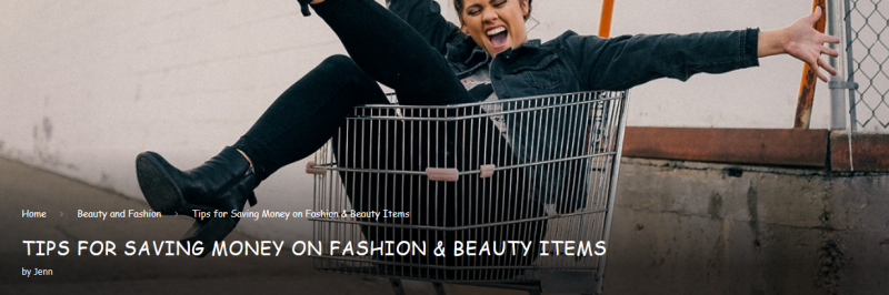 Tips For Saving Money On Fashion & Beauty Items