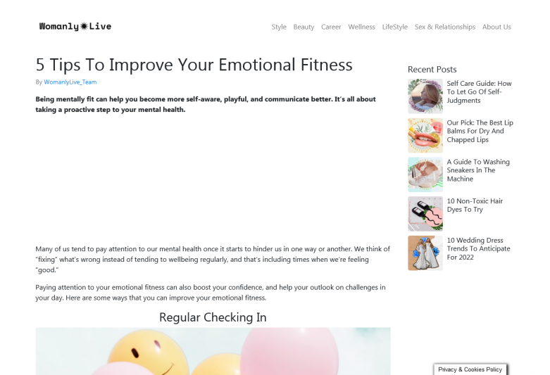 5 Tips To Improve Your Emotional Fitness