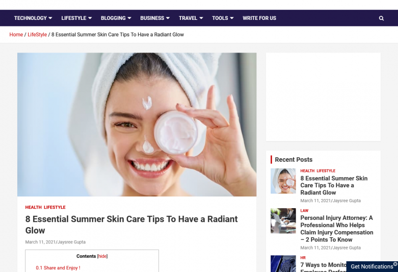 8 Essential Summer Skin Care Tips To Have a Radiant Glow