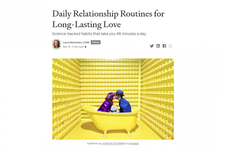 Daily Relationship Routines for Long-Lasting Love