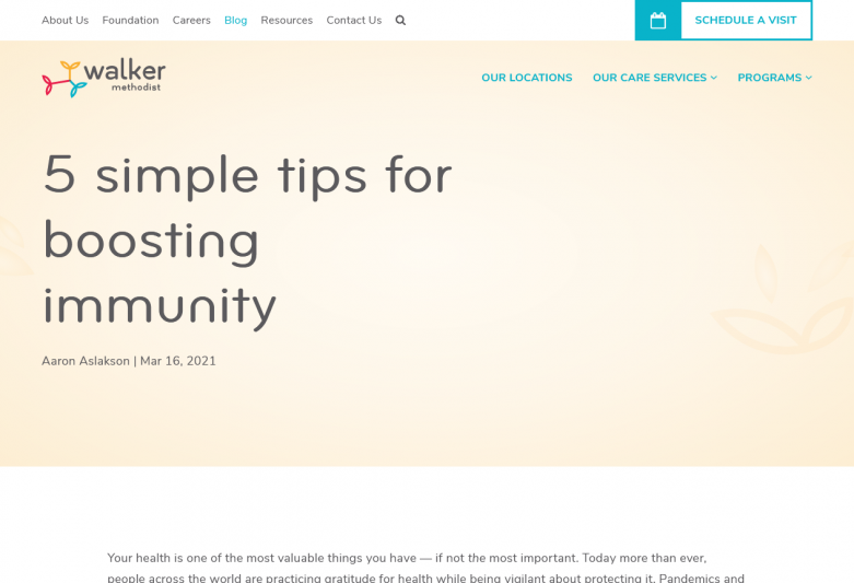 5 simple tips for boosting immunity