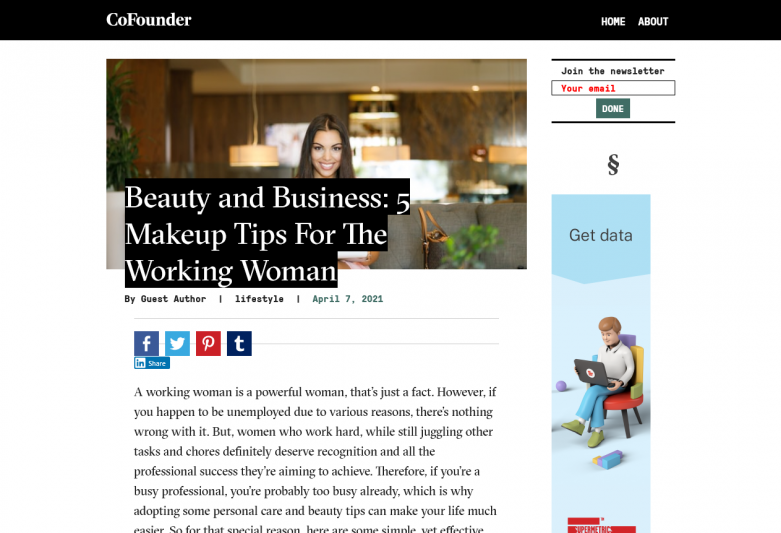 Beauty and Business: 5 Makeup Tips For The Working Woman
