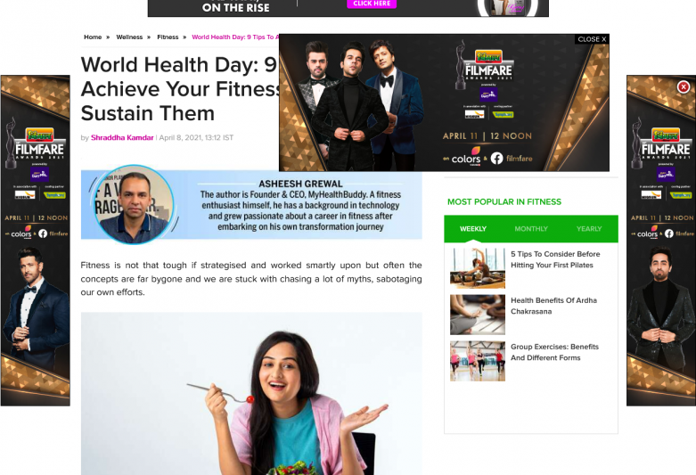 World Health Day: 9 Tips To Achieve Your Fitness Goals And Sustain Them