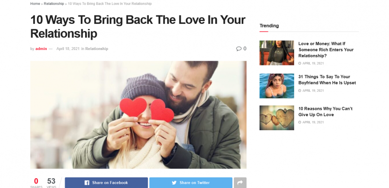 10 Ways To Bring Back The Love In Your Relationship
