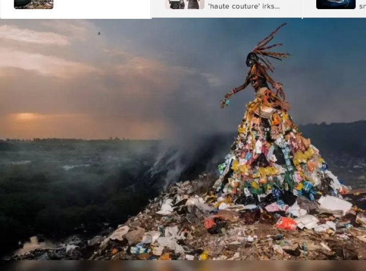 Making the best out of fashion waste