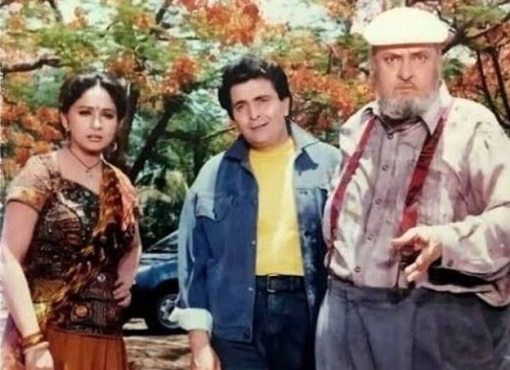 25 Years Of Prem Granth: Madhuri Dixit shares throwback pictures with late Shammi Kapoor and Rishi Kapoor