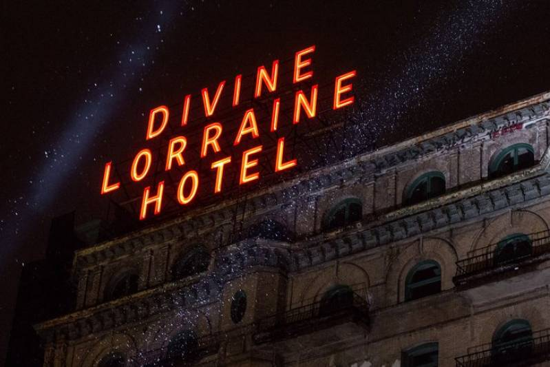 Outdoor market at the Divine Lorraine will include shopping, food, music