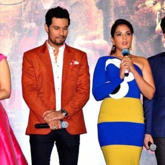Richa Chadha says her Sarbjit co-actor Randeep Hooda's joke on Mayawati is crass, tasteless and sexist