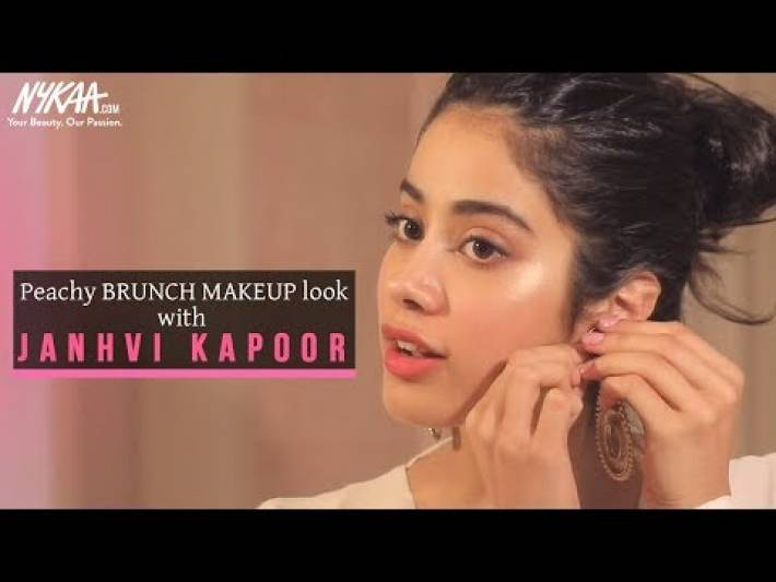 GRWM: Get Ready With Janhvi Kapoor   Brunch Makeup Look   Janhvi's Easy Daytime Look   Nykaa