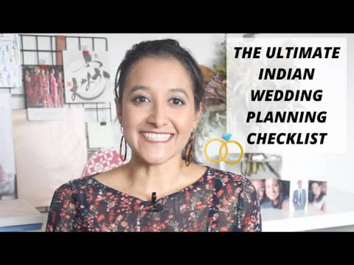The only Indian WEDDING PLANNING CHECKLIST and TIMELINE you NEED