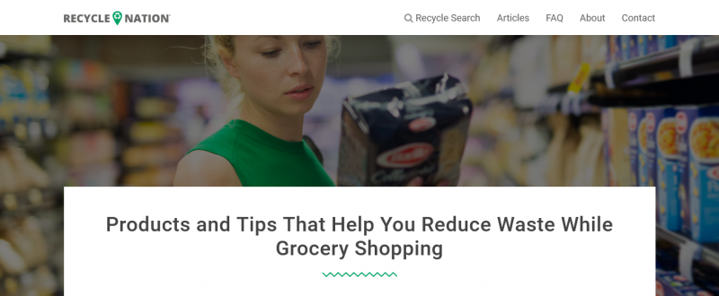Products and Tips That Help You Reduce Waste While Grocery Shopping
