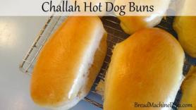 Challah Hot Dog Bun Recipe