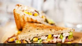 Paneer Corn Sandwich Recipe