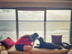Shraddha Kapoor enjoys a calm day with her puppy Shyloh