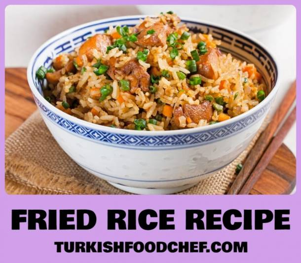 Best Fried Rice Recipe – Easy Chicken Fried Rice *New