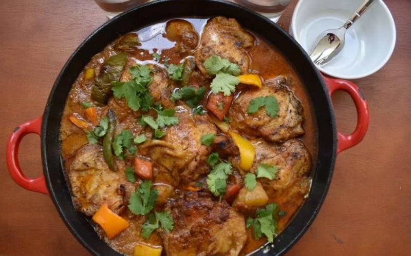 Chicken Thigh Curry