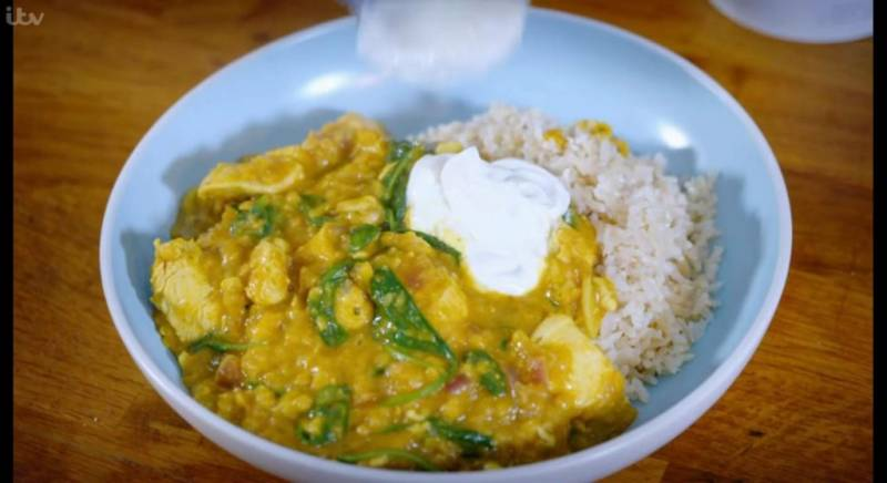 Eat Shop Save: Chicken lentil curry recipe here with cooking instructions!