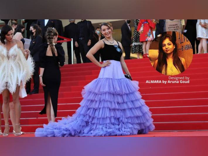 Hyderabad Fashion Designer's Journey from India to Cannes Film festival
