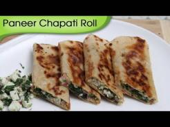 Paneer Chapati Roll – Snacks From Leftover Food / Kids Special Tiffin Recipe By Ruchi Bharani