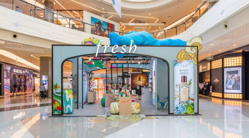 Fresh opens its first travel retail store with Lagardere outside Europe