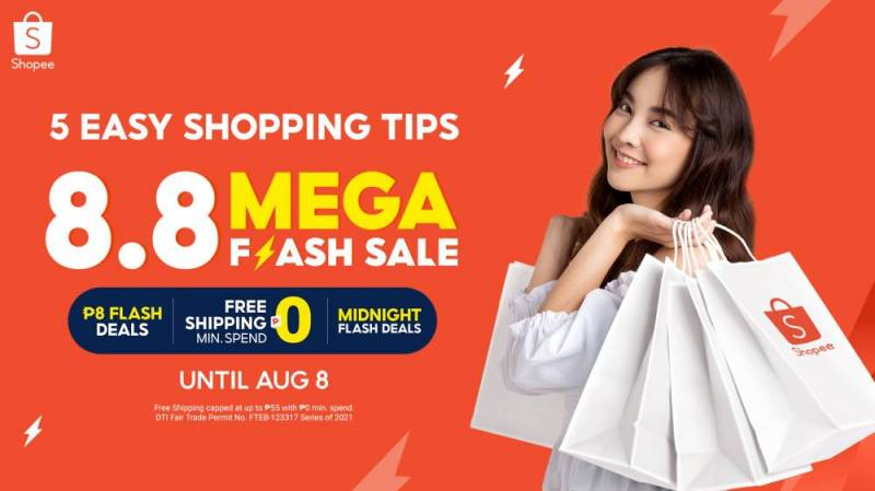 Tips for wise shopping at Shopee 8.8 Mega Flash Sale