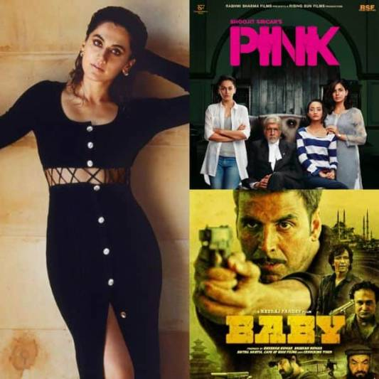 BL Recommends From Pink to Baby Taapsee Pannu's highest rated movies as per IMDB to watch on OTT today