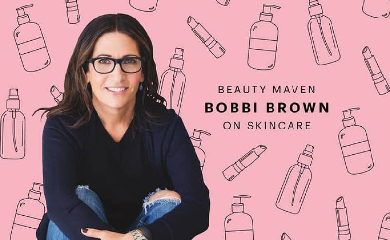 Beauty Guru Bobbi Brown's Tips For Great Skin at Any Age