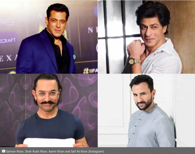 Khans of Bollywood and list of their upcoming movies