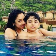 Did Anupamaa actress Rupali Ganguly don a bikini in the pool? She responds with a devilish tweet
