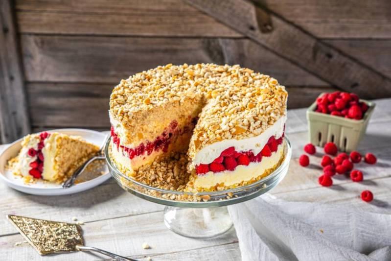 B.C. dessert recipe: Layered Fresh B.C. Raspberry Icebox Pie