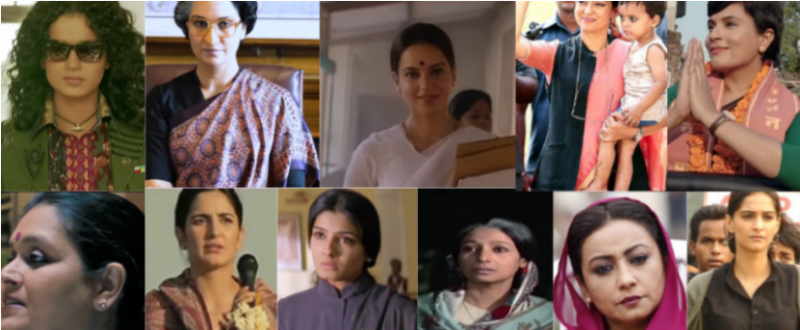 As Kangana Ranaut's Thalaivii Releases We Take A Look At Bollywood Actresses Who've Played Politicians In Movies!