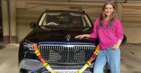 Kriti Sanon is Bollywood's first actress to bring home the 2.5 cr Mercedes-Maybach GLS600