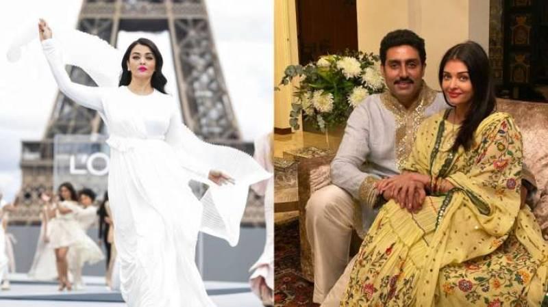 Aishwarya Rai looks dreamy as she walks runway at Paris Fashion Week 2021; look what Abhishek Bachchan shared