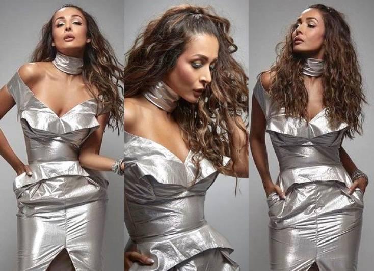 Malaika Arora slays in a metallic outfit like an absolute boss