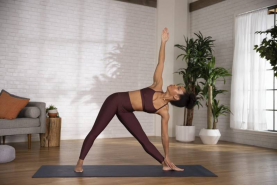 How To Do Triangle Pose To Stretch Your Shoulders, Spine & Hips